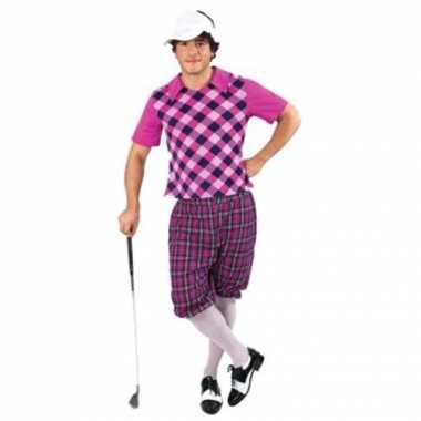 Sportieve golfers verkleedkleren voor heren