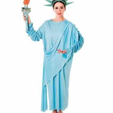 Statue of liberty verkleedkleren met hoofdtooi