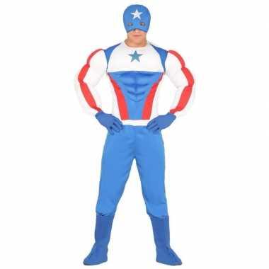 Superheld kapitein amerika verkleedkleren voor heren
