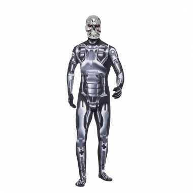 Terminator endoskeleton verkleedkleren voor heren