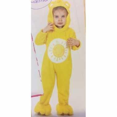 Troetelberen verkleedkleren geel voor meisjes