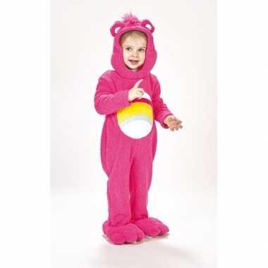 Troetelberen verkleedkleren roze voor meisjes