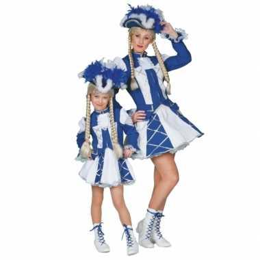 Twirl verkleedkleren blauw voor meiden