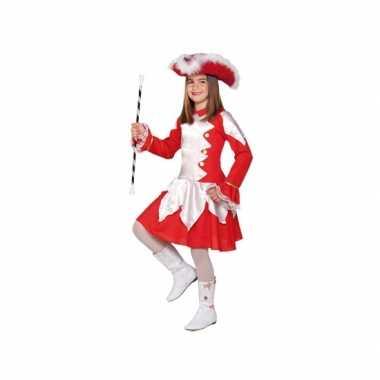 Twirl verkleedverkleedkleren rood voor meiden