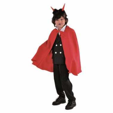 Vampier verkleedkleren cape rood