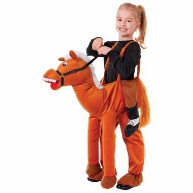 Verkleed stap in paard verkleedkleren voor kids
