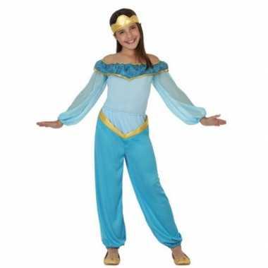 Verkleedkleren blauwe arabische prinses