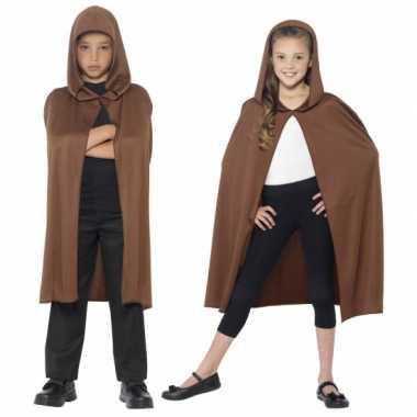 Verkleedkleren bruine cape