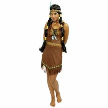 Verkleedkleren indiaan jurkje voor dames
