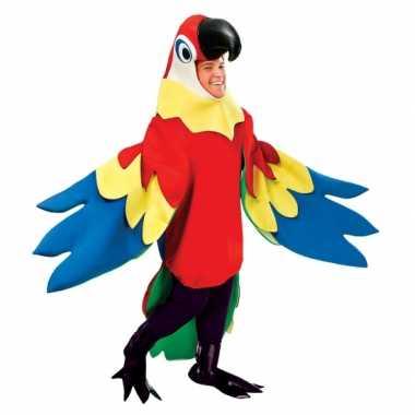 Verkleedkleren papegaai