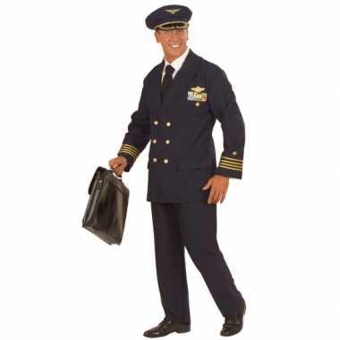 Verkleedkleren piloot voor heren