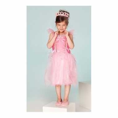 Verkleedkleren prinses fuchsia meisjes