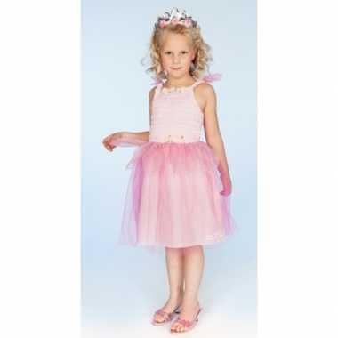 Verkleedkleren prinses roze meisjes