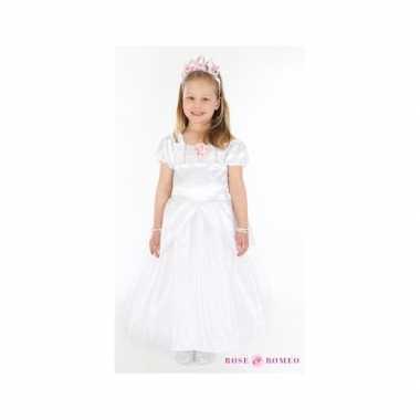 Verkleedkleren prinses wit meisjes