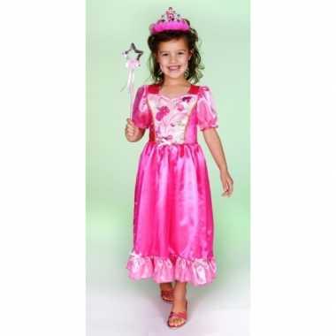 Verkleedkleren prinsessenjurk roze