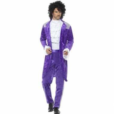 Verkleedkleren purple voor heren