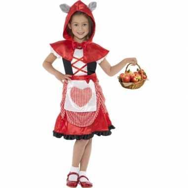 Verkleedkleren roodkapje voor meisjes