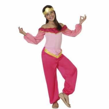 Verkleedkleren roze arabische prinses