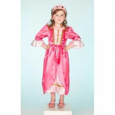 Verkleedkleren roze jurk voor meisjes