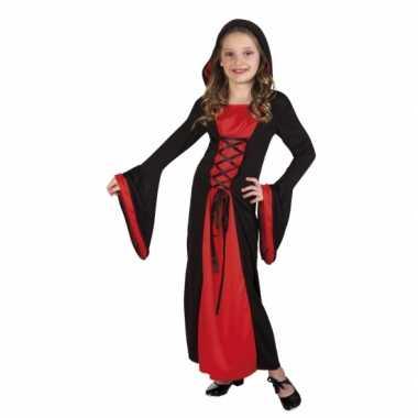 Verkleedkleren vampier valentina voor meisjes