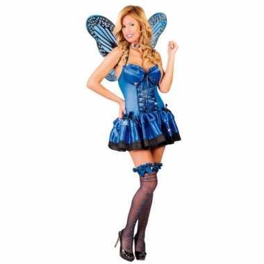 Verkleedkleren vlinder verkleedkleren blauw