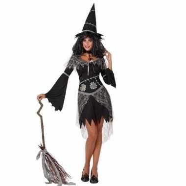 Verkleedkleren zwarte heks