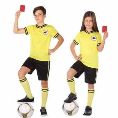 Voetbal scheidsrechter verkleedkleren voor kinderen