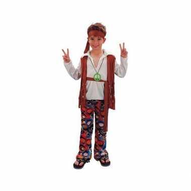 Voordelig hippie verkleedkleren voor jongens