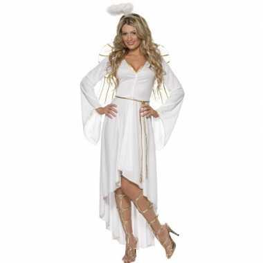 Wit engelen verkleedkleren voor dames