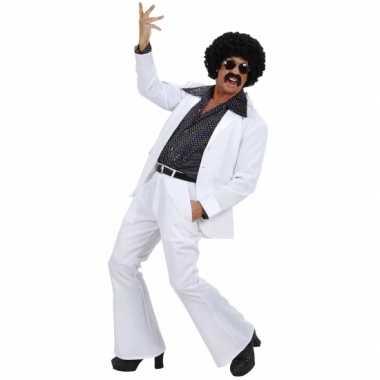 Witte disco verkleedkleren voor heren