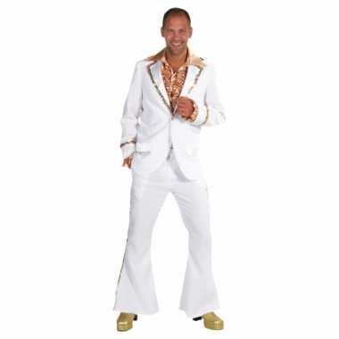 Witte seventies verkleedkleren heren