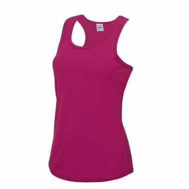 Yoga verkleedkleren roze dames sport top