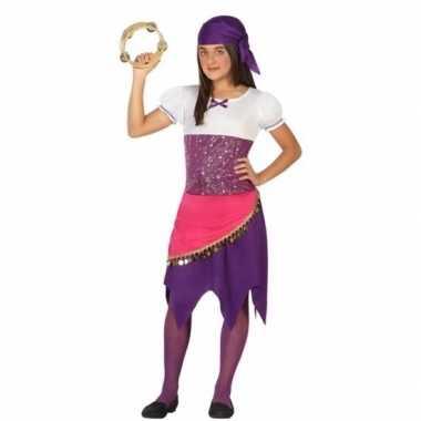 Zigeunerin esmeralda verkleedkleren voor meisjes