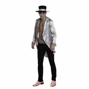 Zombie bruidegom verkleedkleren voor heren