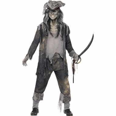 Zombie piraten verkleedkleren voor heren
