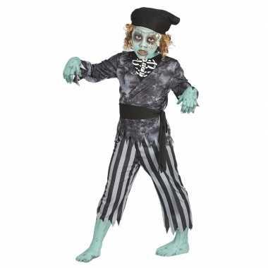 Zombie piraten verkleedkleren voor jongens