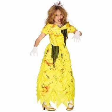 Zombie prinses belle verkleedverkleedkleren voor meisjes prinsessenju