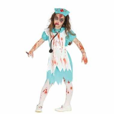 Zombie verpleegster/zuster verkleedverkleedkleren voor meisjes