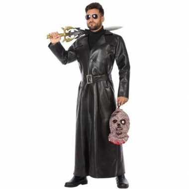 Zwart vampierjager verkleedkleren voor heren