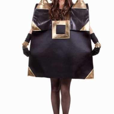 Zwarte handtas verkleedkleren voor dames