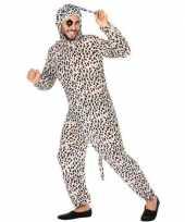 Dierenpak verkleedkleren dalmatier hond voor volwassenen