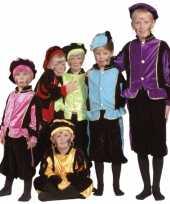 Luxe zwarte pieten verkleedkleren voor kinderen 10036513