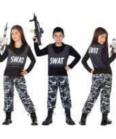 Politie swat verkleed pak verkleedkleren voor kinderen