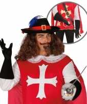 Verkleedkleren musketier accessoire volwassenen 10064667